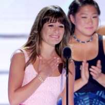 Lea-michele-at-the-teen-choice-awards