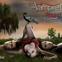 Vampire diaries round table logo