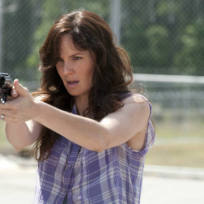 Lori on walking dead