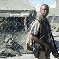 Lawrence Gilliard Jr. on The Walking Dead