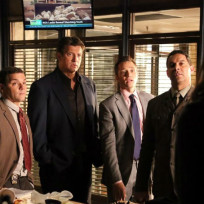 Joshua bitton nathan fillion seamus dever jon huertas photo