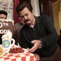 Nick Offerman Celebratory Pic