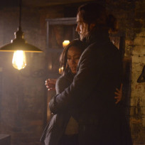 Ichabod hugs abby