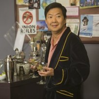 Chang in a Robe