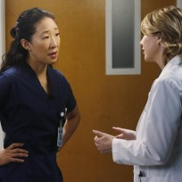 Cristina Doesn't Look Happy