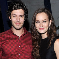 Leighton meester adam brody photo