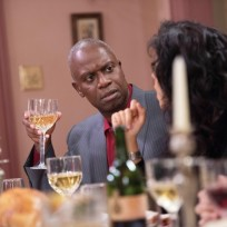 Captain Holt on Thanksgiving