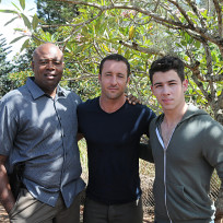 Nick jonas on location