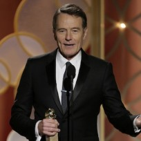 Bryan Cranston at the Golden Globes