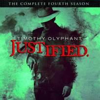 Justified Season 4 DVD