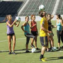 Juan Pablo Plays Soccer