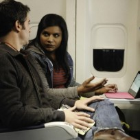 Mindy-on-a-plane