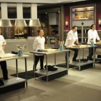 A top chef scene