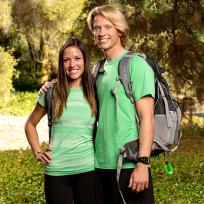 John Erck and Jessica Hoel