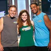 David Brown, Rachel Frederickson and Bobby Saleem