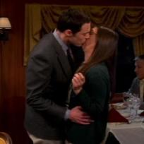 Grade Sheldon and Amy's Kiss