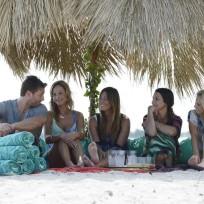 A private island date