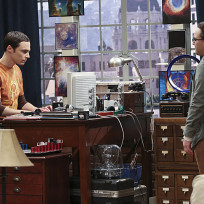 Leonard Talks to Sheldon