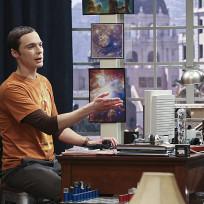 Sheldon Makes His Point