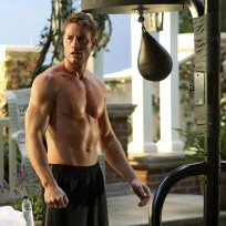 Will you miss seeing Justin Hartley shirtless on Revenge?