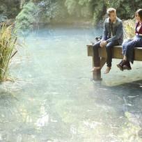 Aria and Riley at the Lake
