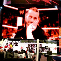 Cm punk on screen
