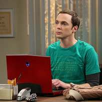 Sheldon at work
