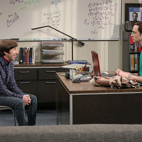 Howard Visits Sheldon at Work