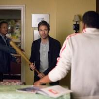 Daniel with a bat