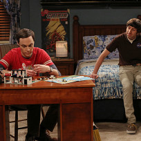 Howard Tries to Comfort Sheldon