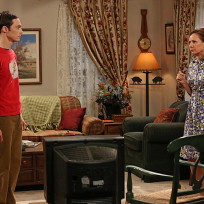 Sheldon Faces Off with His Mother