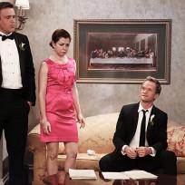 Barney, Lily and Marshall