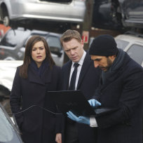 Aram Briefs Liz and Ressler