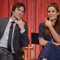 Ian-somerhalder-and-nina-dobrev-on-stage