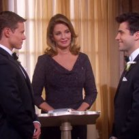 Who wore the best dress to Sonny and Will's wedding?