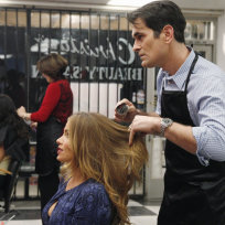 Phil-as-a-hairdresser