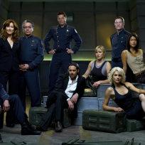 Battlestar galactica cast photo