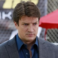 Who has grabbed Richard Castle?