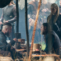 Ragnar lagertha and king horik in wessex