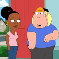 Chris and girlfriend