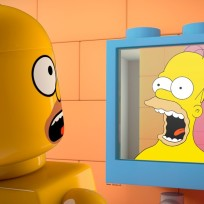 Homer-as-a-lego