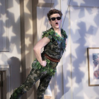 Kurt as Peter Pan