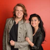 Caleb-johnson-and-jena-irene