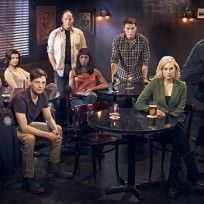 Rookie blue cast pic