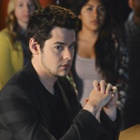 Lucas Trying To Look Cool