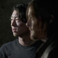 Glenn and Daryl