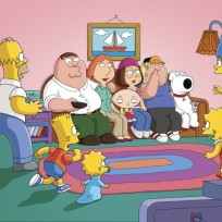 Simpsons slash family guy