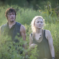 Norman-reedus-and-emily-kinney