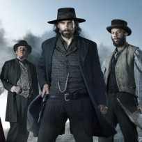 Hell on wheels cast pic