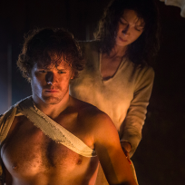 Claire becomes a prisoner outlander